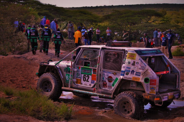 On The Rocks.. (Rhino Charge 2016)