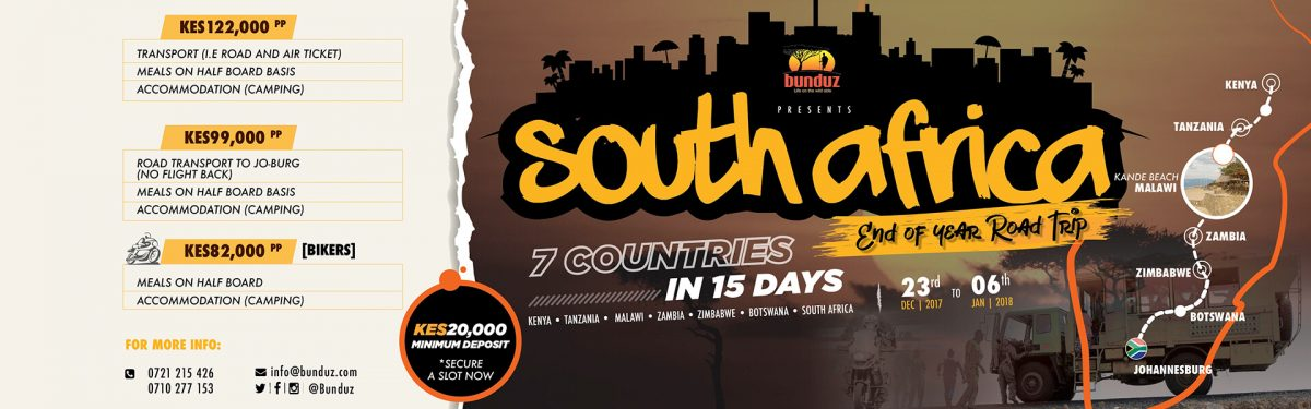 SOUTH AFRICA END OF YEAR ROAD TRIP 2017 – 23RD DEC 2017 TO 6TH JAN 2018
