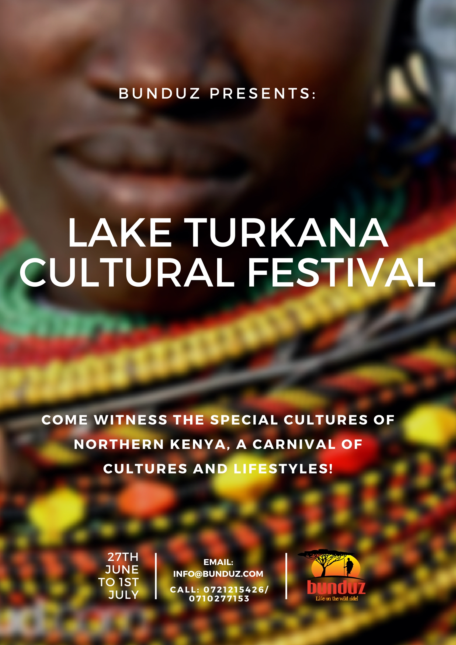 LAKE TURKANA CULTURE FESTIVAL, 27TH JUNE TO 1ST JULY 2018